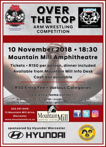 Arm Wrestling Competition FB & Web