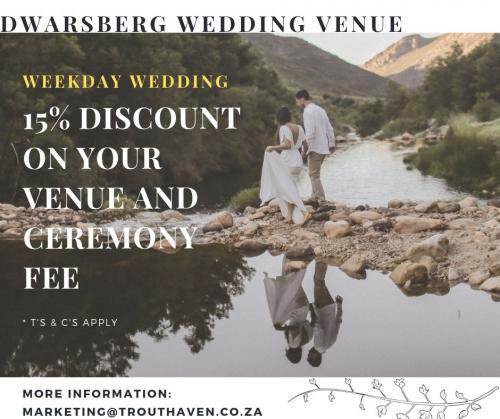 Dwarsberg Wedding Venue 15% discount (1)
