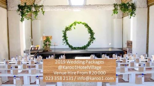 Karoo1 Wedding Packages