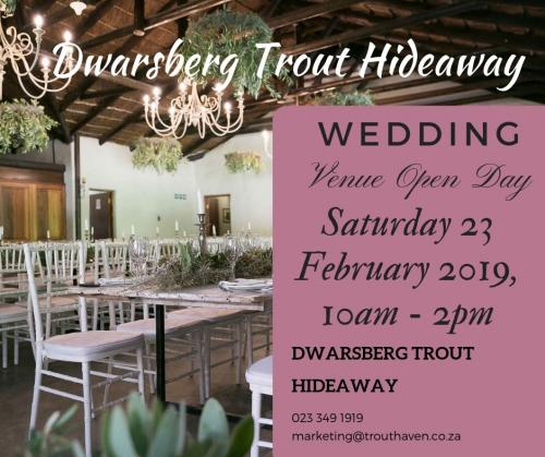 Wedding venue open day 2