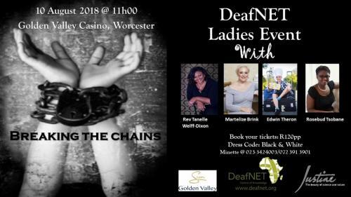 ladies event poster