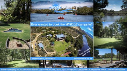 Bonamanzi Adventures Camping Advert